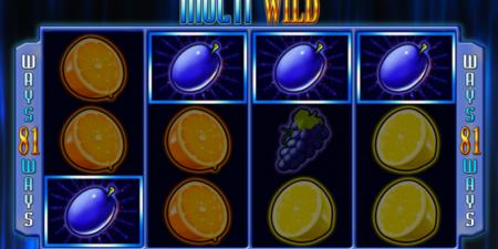 Multiwild Spielautomat von Merkur