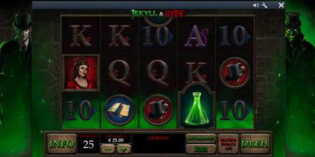 Jekyll & Hyde Spielautomat