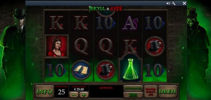 Jekyll&Hyde Spielautomat