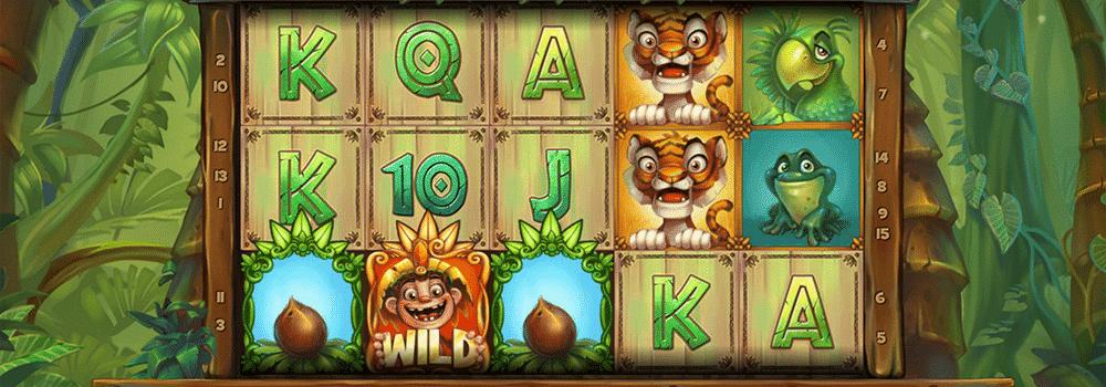 Jungle Trouble Spielautomat