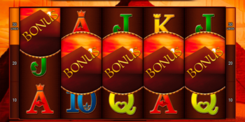 Pharaoh's Riches Spielautomat von Bally Wulff