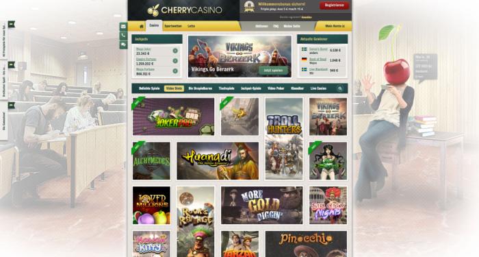 Cherry Casino Spielautomaten