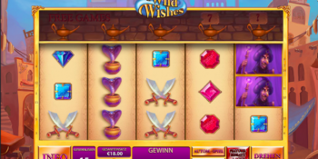 Wild Wishes Spielautomat von Playtech