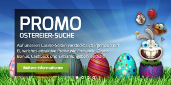 Macht jetzt mit bei der Ostereier-Suche im Lapalingo Casino