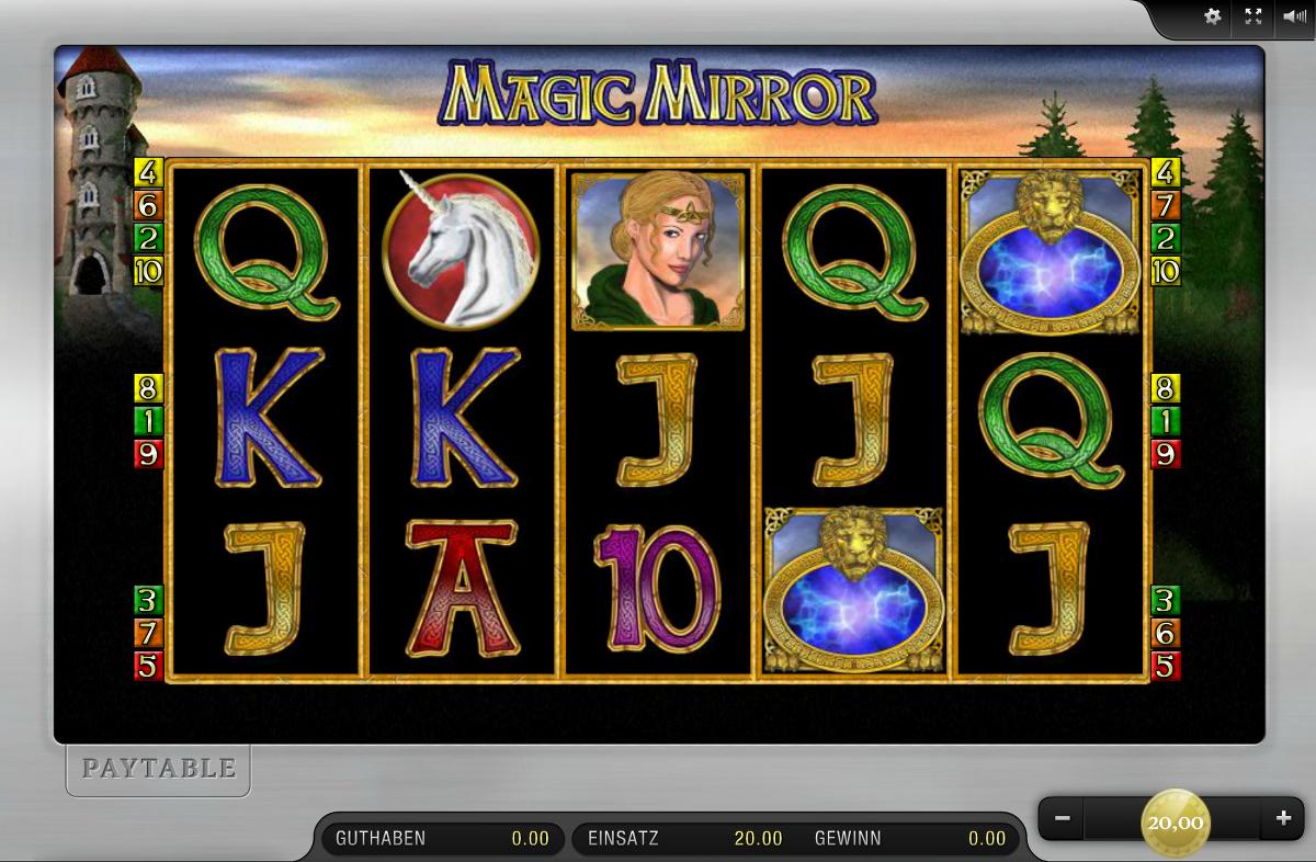 Magic Mirror Spielautomat - Spielen Sie gratis Merkur-Spiele online