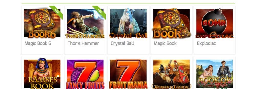 Online im Lapalingo Casino die Merkur Spiele spielen