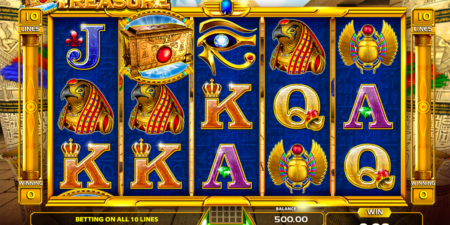 Ramses Treasure Spielautomat von GameArt