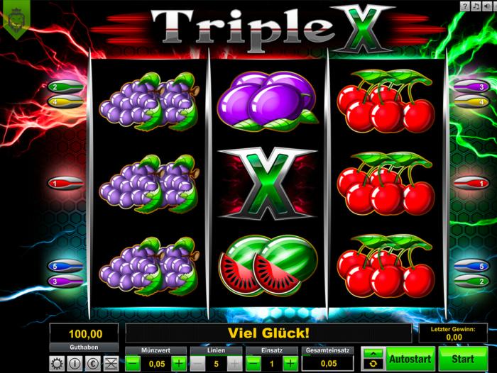 Triple X von Löwen Play