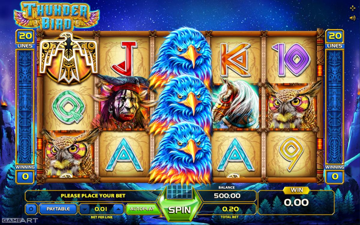 Spiele Bird Of Thunder - Video Slots Online