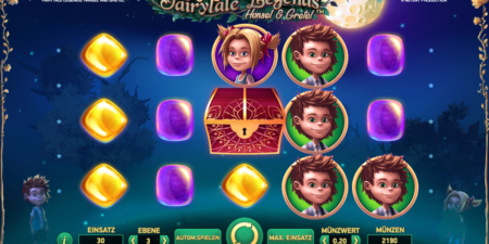 Fairytale Legends: Hansel and Gretel von Net Entertainment