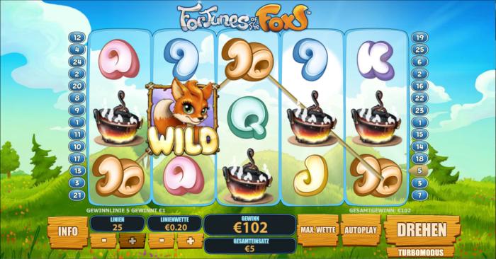 Spielautomat fortunes of the fox kostenlos online